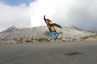 Jumping Bromo