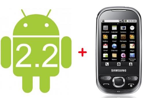 Samsung Galaxy 5 + Froyo