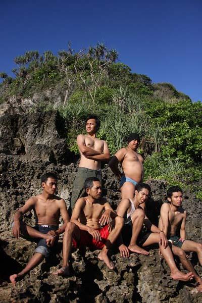 Pose bersama Temans