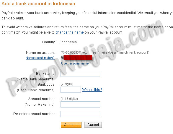 verified paypal