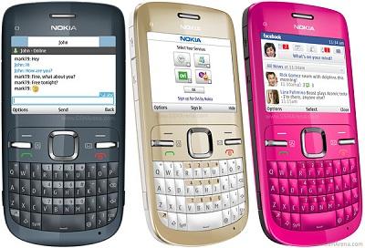 Nokia C3 Qwerty